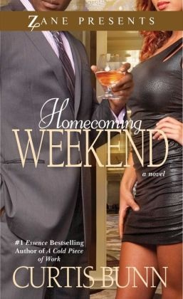 "Recommended books Curtis Burn ""Homecoming Weekend"""
