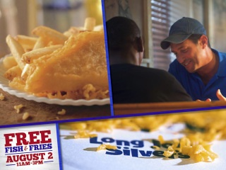 FREE FISH and fries at Long John Silver!