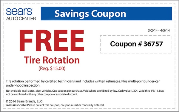 FREEBIES: Free tire rotation at Sears. Single Black Mom