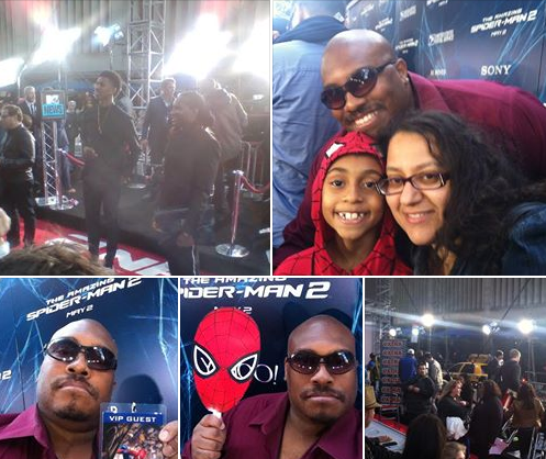 SPIDER-MAN 2 premiere in New York City!