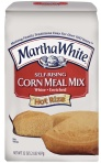 White corn meal hot water corn bread