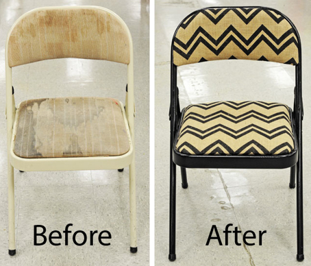chair - refurbish - thrift store - do it yourself - thesinglemom