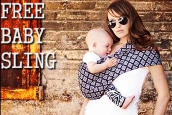 Free baby sling - TheSingleMomClub.com