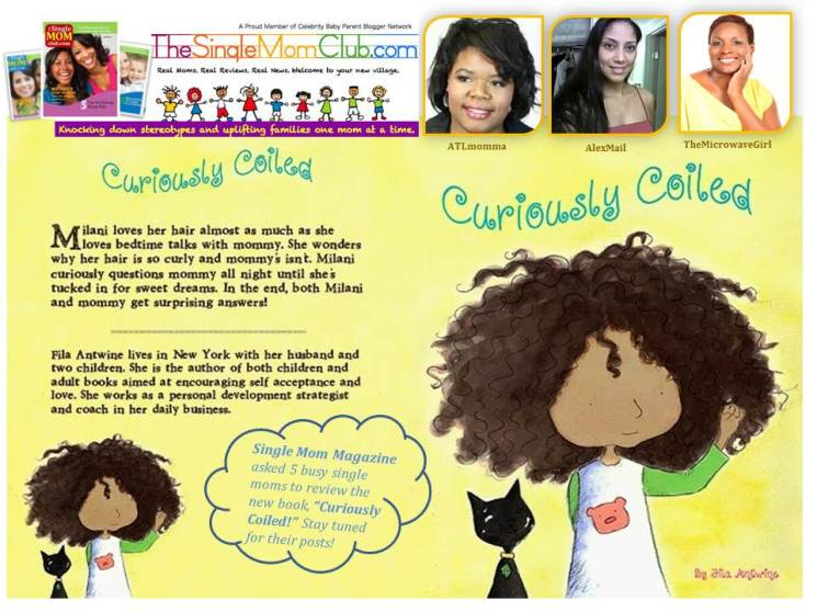 Curiously Coiled - the multicultural kids hair book - thesinglemomclub.com