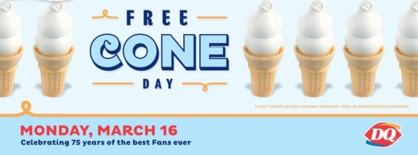 FREE ice cream cone day
