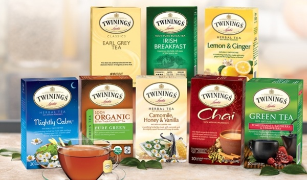 Free twinings tea sampler pak
