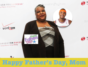 Carmelo Anthony singlemom fathersday