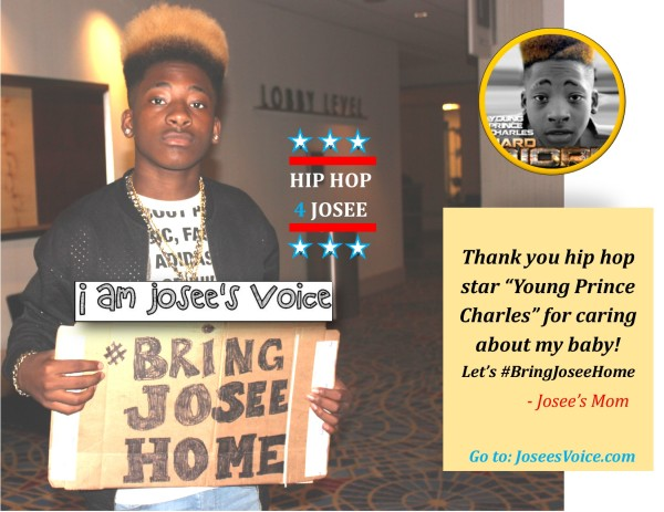 hiphop4josee #BringJoseeHome #YoungPrinceCharles rapper