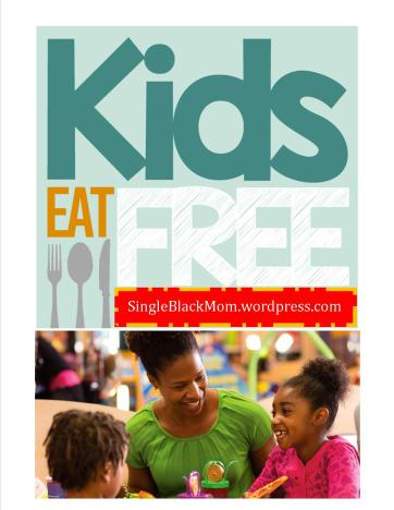 KidseatFree - Black Single moms guide to feeding her family